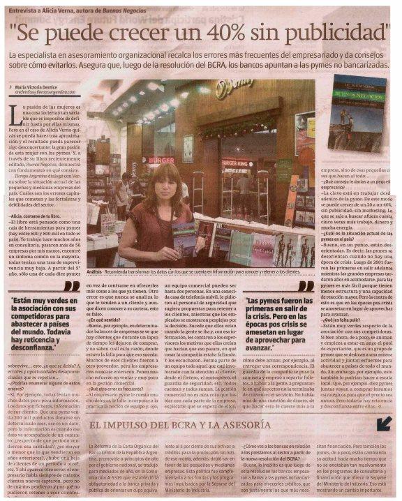Tiempo Argentino 13-01-2013
